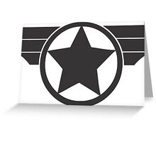 Super Soldier Greeting Card