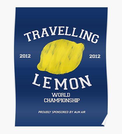 Travelling Lemon World Championship 2012 Poster