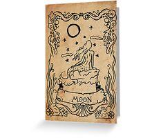 Mermaid Tarot: The Moon Greeting Card