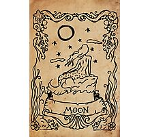 Mermaid Tarot: The Moon Photographic Print