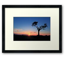 Sunrise...Just Waking Up Framed Print