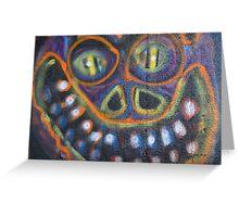 Graffiti Wall Art Photography - Smile Greeting Card