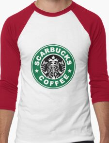 Scarbucks Men's Baseball ¾ T-Shirt