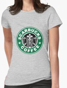 Scarbucks Womens Fitted T-Shirt