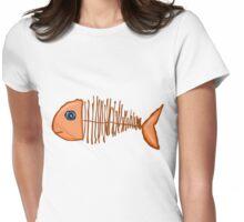 Fish bone Womens Fitted T-Shirt