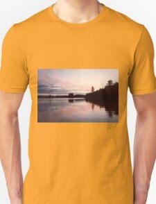 Duck Lake Sunset Reducks T-Shirt