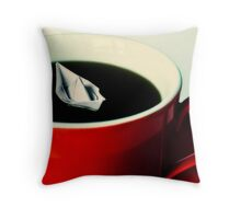 all at sea Throw Pillow