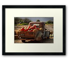 A cornacopia of trucks Framed Print
