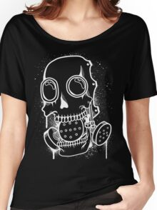Skull Mask (Spray) + inverted Women's Relaxed Fit T-Shirt