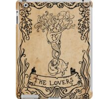 Mermaid Tarot: The Lovers iPad Case/Skin