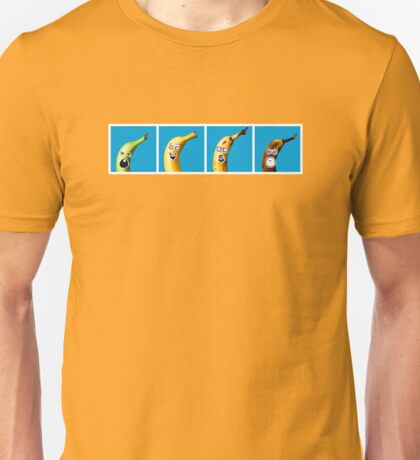 The Four Ages of Bananahood Unisex T-Shirt