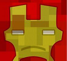 Super Pillow - Ironman by GrimbyBECK