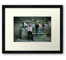 Own Worldz Framed Print
