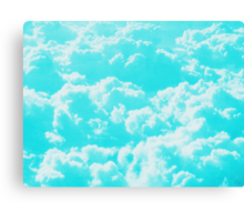 Above the Clouds photo painting Canvas Print