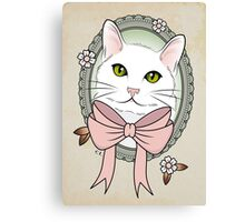 Valentina the Cat  Canvas Print