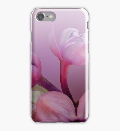 Lilac florets  iPhone Case/Skin
