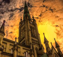 St. James Cathedral 2 by John Velocci