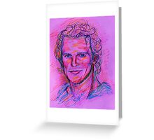 Matthew McConaughey Greeting Card