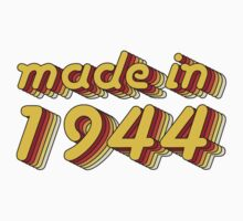 Made in 1944 (Yellow&Red) One Piece - Short Sleeve