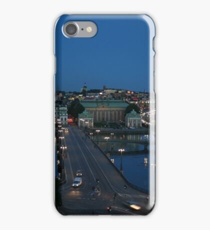 Stockholm Night iPhone Case/Skin