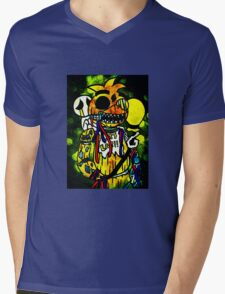 FNAF - Chica Changed The Most Mens V-Neck T-Shirt