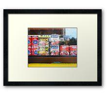Spam! Framed Print