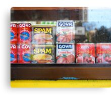 Spam! Canvas Print