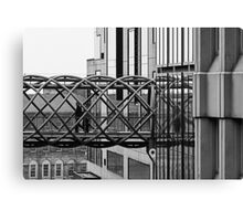 Bendy Bridge Canvas Print