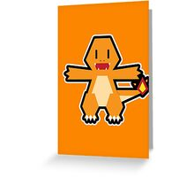Pokévector: Charmander Greeting Card
