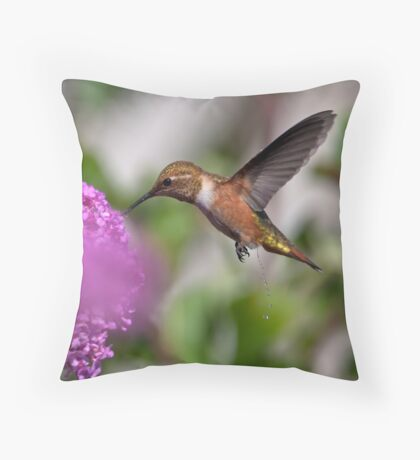 A Call of Nature! Throw Pillow