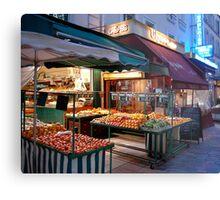 Night Market, Paris Metal Print