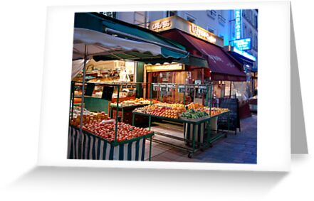 Night Market, Paris by CorinnePurtill