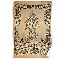 Mermaid Tarot: Strength Poster