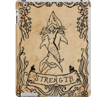 Mermaid Tarot: Strength iPad Case/Skin