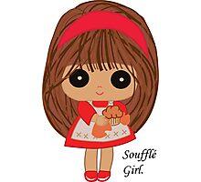 Soufflé Girl Photographic Print
