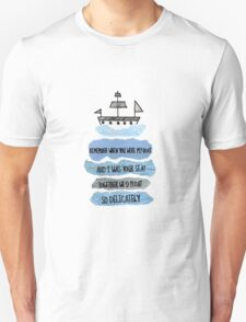 When You Were My Boat T-Shirt