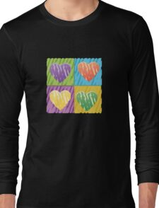 pop hearts Long Sleeve T-Shirt