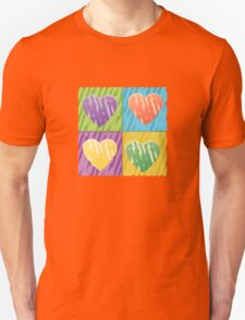pop hearts Unisex T-Shirt