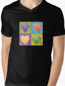 pop hearts Mens V-Neck T-Shirt