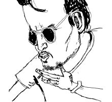 This is a Johnny Depp drawing by adrienne75