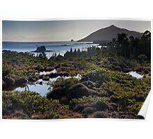 Muskeg ~ Ommaney Peak ~ Crow & Wooden Islands Poster