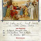 1936 Baptism Certificate by Woodie