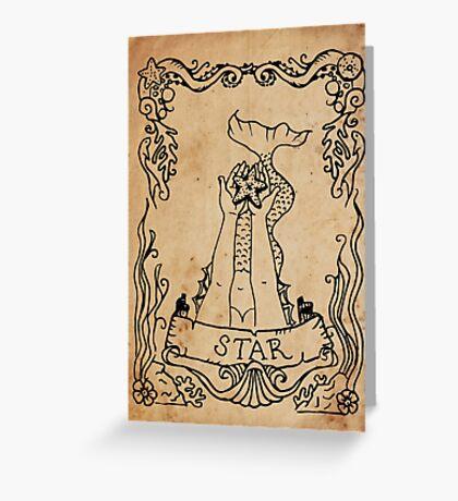 Mermaid Tarot: The Star Greeting Card