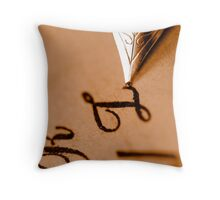 Antiquity Throw Pillow
