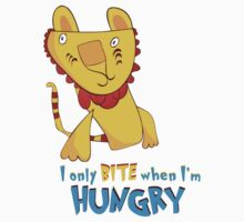 I Only Bite When I'm Hungry Kids Clothes