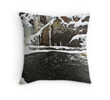 Boiling cold Throw Pillow