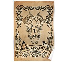 Mermaid Tarot: Hierophant Poster