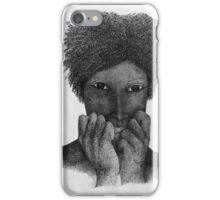 Apunda (one who is beside herself) iPhone Case/Skin