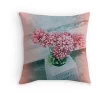 Flowers in St Louis Cemetery No. 3 Throw Pillow