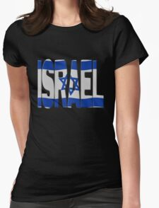 Israeli flag Womens Fitted T-Shirt